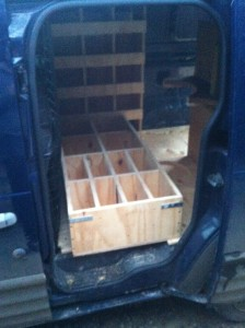 Working van storage solutions